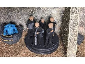 Figrin D'an and the Modal Nodes (star wars legion scale)