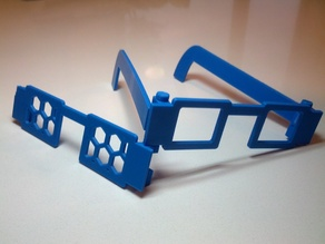 Customizable Glasses w/ Fillable Lenses