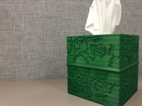 Brier Rose Tissue Box