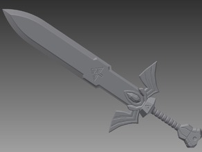 legend of zelda wind waker master sword