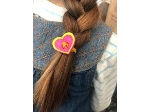 Heart hair bobbles!