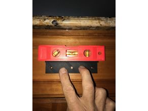 Drawer pull template