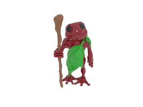 Frog folk with staff