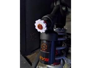 KYB Shock Easier to adjust wheel
