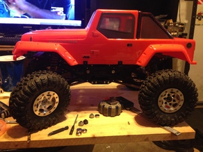 rc crawler chassis