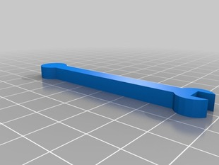 5.5mm Wrench in OpenSCAD