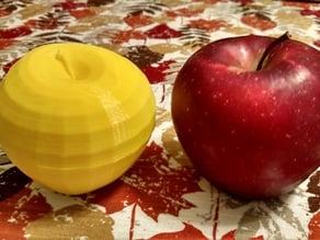 Full-scale Apple Fruit