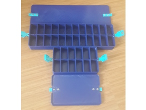 Orthodontic Bracket Case with clips