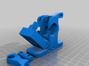 Greg Wades Extruder STEP files