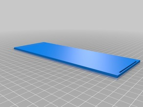 My Customized Parametric Divided Box with Sliding Top