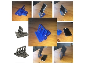 Small Phone/Tablet stand with adjustable angle.