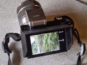 Sony NEX-5 Camera Screen Sun Shield