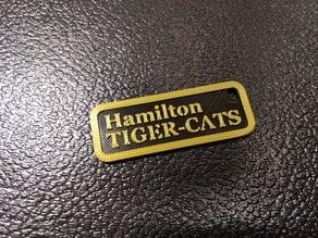 Hamilton Tiger-Cats Keychain