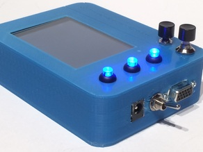 Touchscreen Display and Rechargeable Battery Pack for the PiKon Telescope / Raspberry Pi