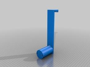 Sidewise Filament Spool Holder for Ultimaker 2