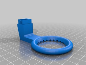My Customized Fully  parametric fan duct for 3d printers