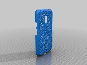 Motorola G4 Play Voronoi Case