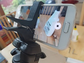 Mobile Phone Tripod Clamp