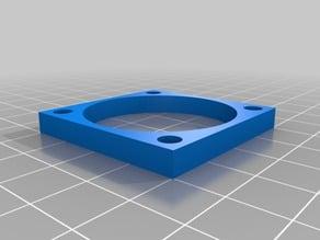 Filament cooling - fan spacer 5mm