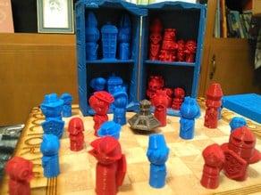 Doctor Who 2018 Chess set case / TARDIS playset