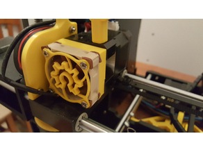 Quick Acces Extruder Fan Support Anet A6