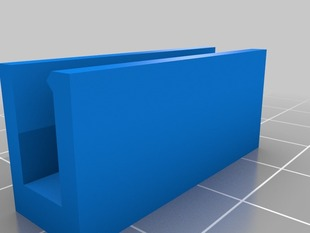 Replicator build platform limit adjustment clip