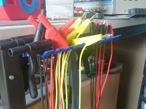 Laboratory cable holder