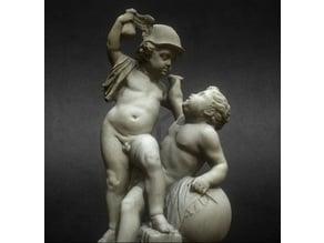 Cupid fighting