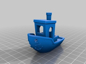 Benchy with anchors