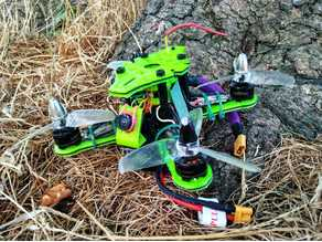 "X-132: The Ultimate Sub 250g 2-3 Inch Brushless ""Monster Whoop"" Micro Drone Frame Kit"