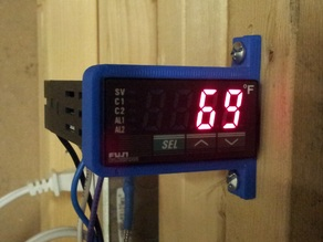 1/32 DIN Temperature Controller Wall Mount