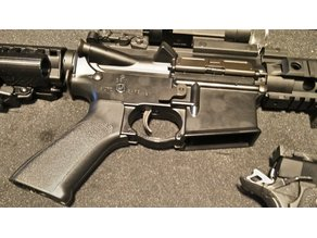 (AIRSOFT) M4 Trigger Guard for Better Magazine Feeding