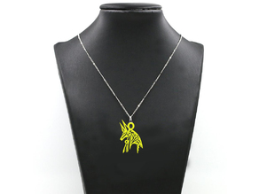 Anubis Amulet Abstract