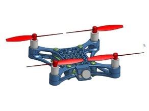 FlexSandwich 100mm flexible brushed quadcopter