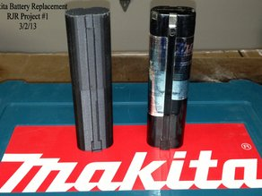 Makita 9.6 Battery Case