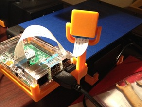 Raspberry Pi mount for Printrbot Simple Metal RPi Camera Bed Mount