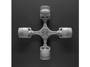 yamaha skull piston