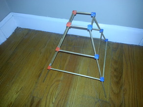 model joint for Ultimate Ascent Pyramid