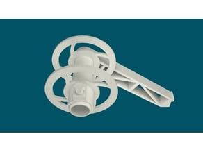 Tevo / Creality side spool holder