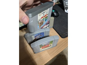 N64 friction-fit dust cover