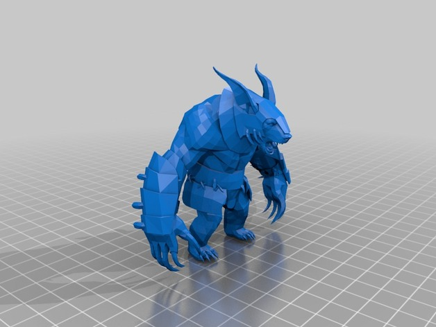 ursa dota 2 by thevelocityraptor thingiverse