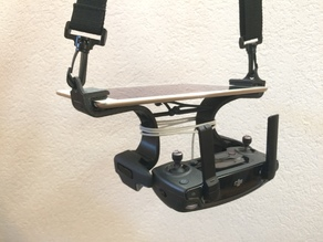 iPad modular support for DJI Mavic Pro remote - remix