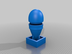little boy grinder (atomic bomb styled)