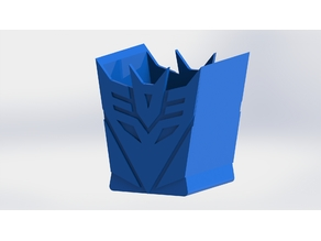 Transformers Pencil Holder