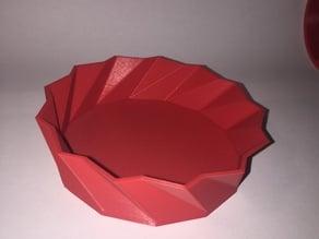 Fully customizable Vase twisted