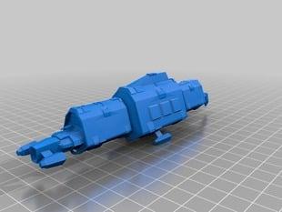 Eve Online - Badger Mk II Caldari Industrial Ship