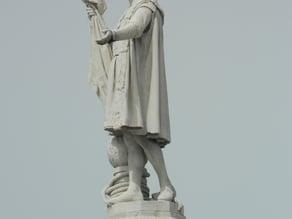 Christopher Columbus, Monument in Madrid (Spain)