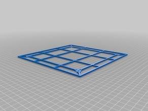 Ender-3 print bed insulation holder (revision 2)