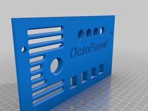 The OctoPanel:  OctoPrint hardware for the Rostock Max V2.