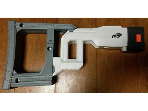 Nerf Regurator-Stock Extended Parts